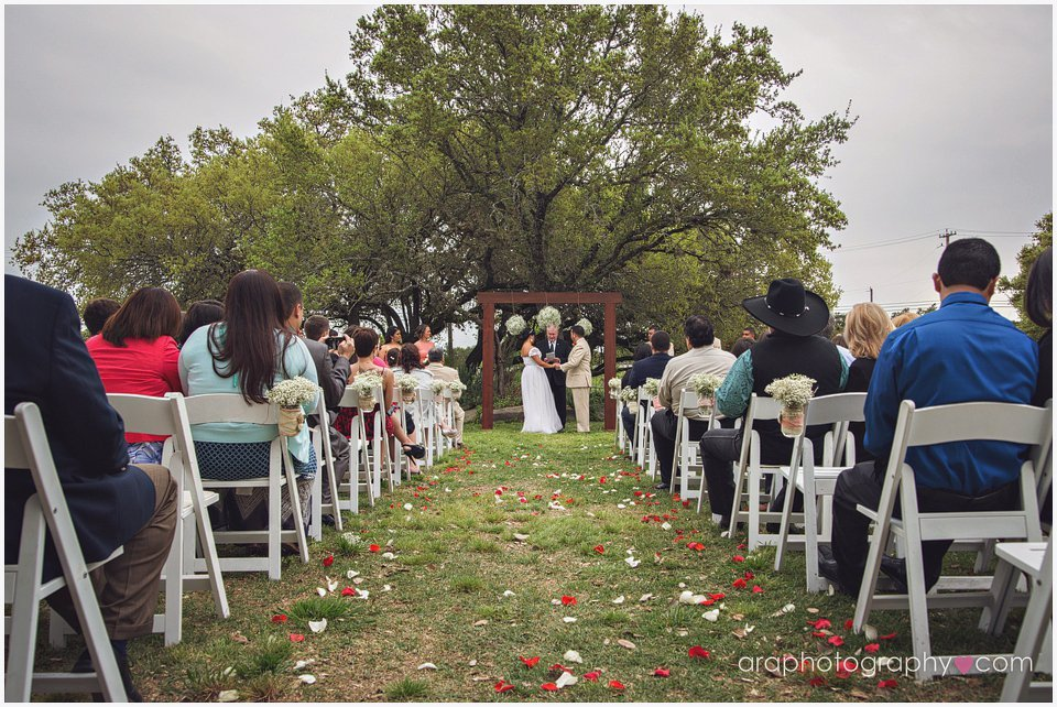 outdoor wedding san antonio, tx