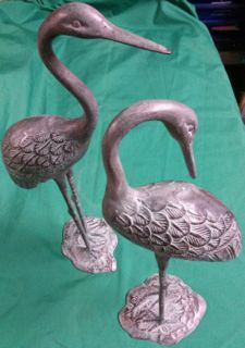Bronze Tsuru or Cranes in Honolulu, HI