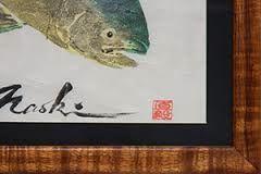Painting of Naoki Hayashi in Honolulu, HI