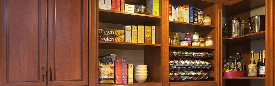 Custom Kitchen Pantry Installation