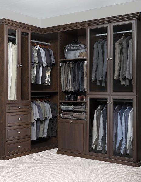 ... Chocolate Pear Premier Walk In Closet