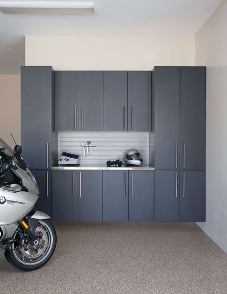 Bronze Custom Garage Cabinets; Granite Custom Garage Cabinets ...