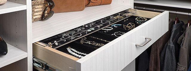 At A Closet Gallery, We Offer A Wide Range Of Accessories For Your Custom  Closets That Will Increase The Number And Types Of Items That You Can Store.