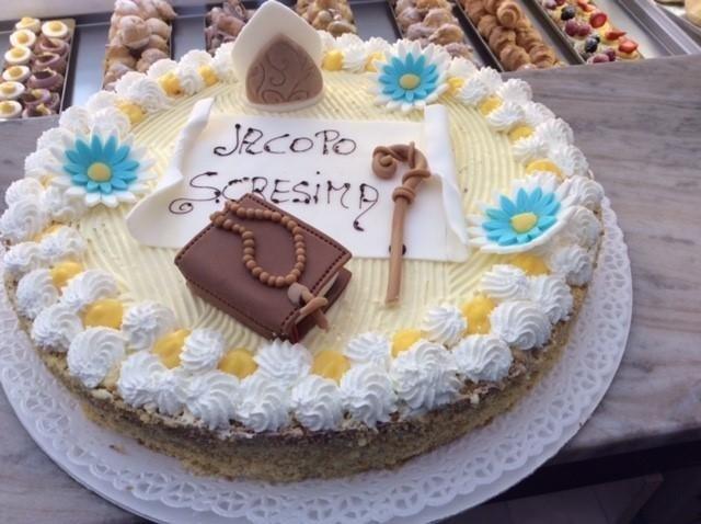 torte decorate per cresima e comunione