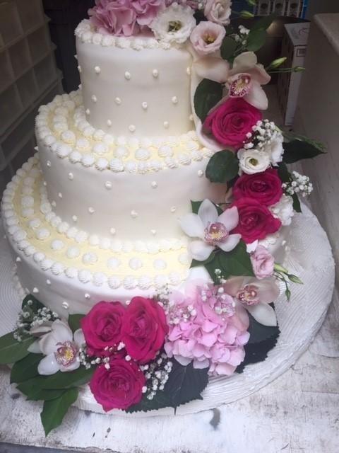 Torte decorate per matrimonio