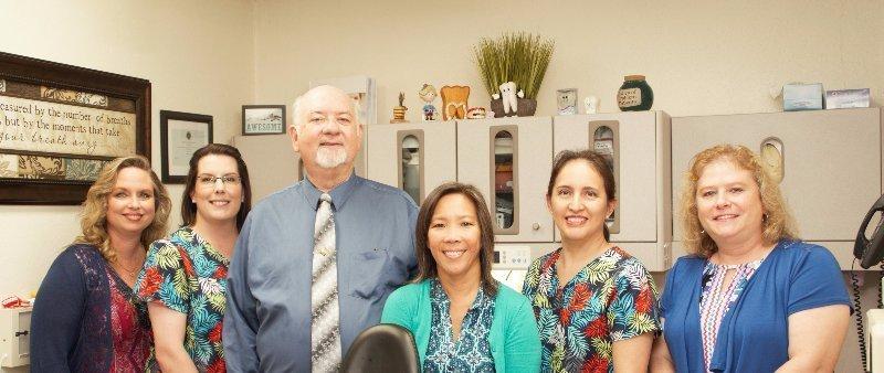 Live Oak Family Dentistry photo inside office