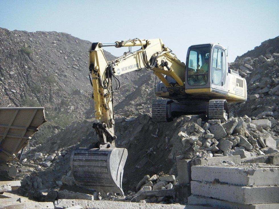 demolizioni e recupero macerie
