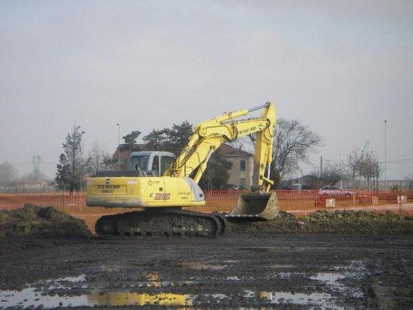 scavi per realizzazione fossi