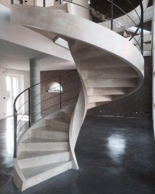 scale ellittiche Verona