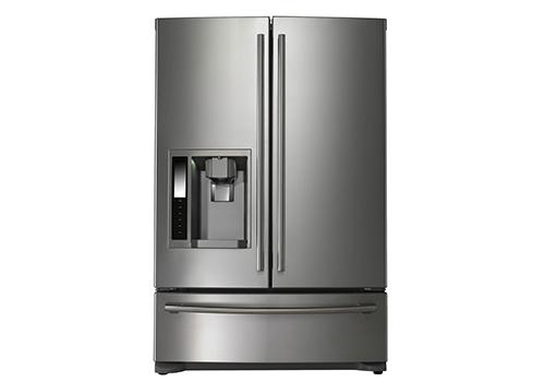 Moderno frigorifero a doppia porta