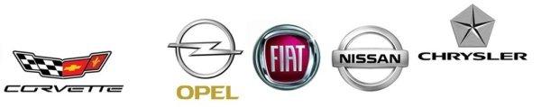 Corvette Opel Fiat Nissan Chrysler