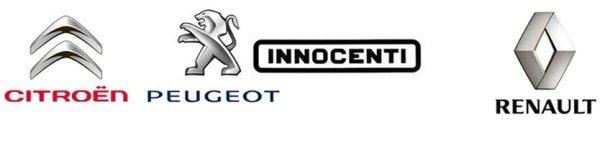 Citroen Peugeot Innocenti Renault