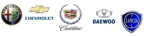 Chevrolet Cadillac Daewoo Lancia