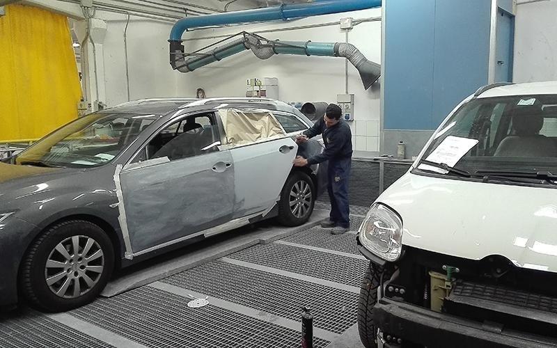 Carrozzeria verniciatura auto