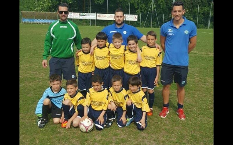 Squadra calcio giovanile Carrozzeria Pignatti