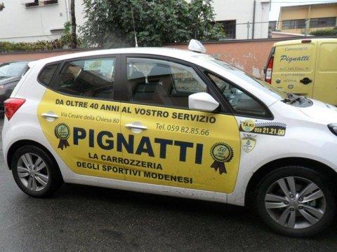 Auto sostitutiva carrozzeria Pignatti