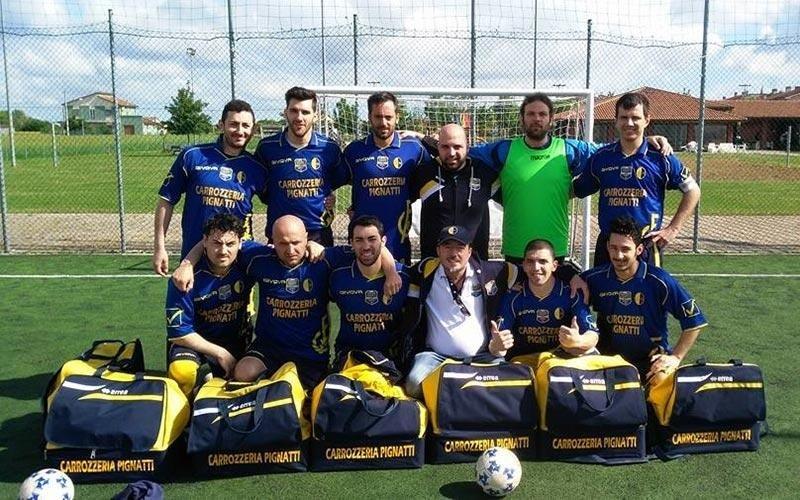 Sponsor squadra Carrozzeria Pignatti