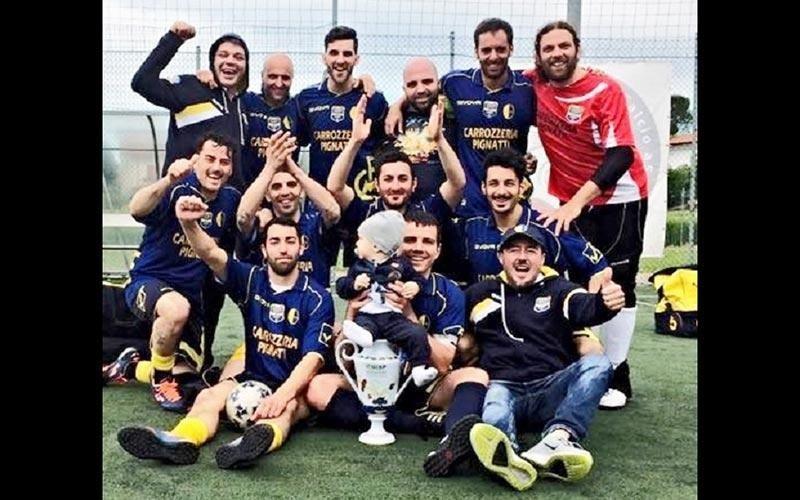 Sponsor calcio Carrozzeria Pignatti