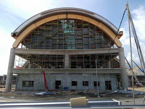 copertura di un tetto circolare