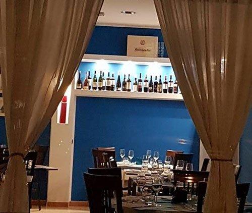 Sala da pranzo, al Ristorante La Lampara a Crema