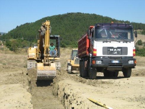 Escavatore Gioacchini Sante