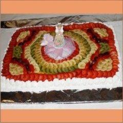 torta alla frutta per un evento speciale