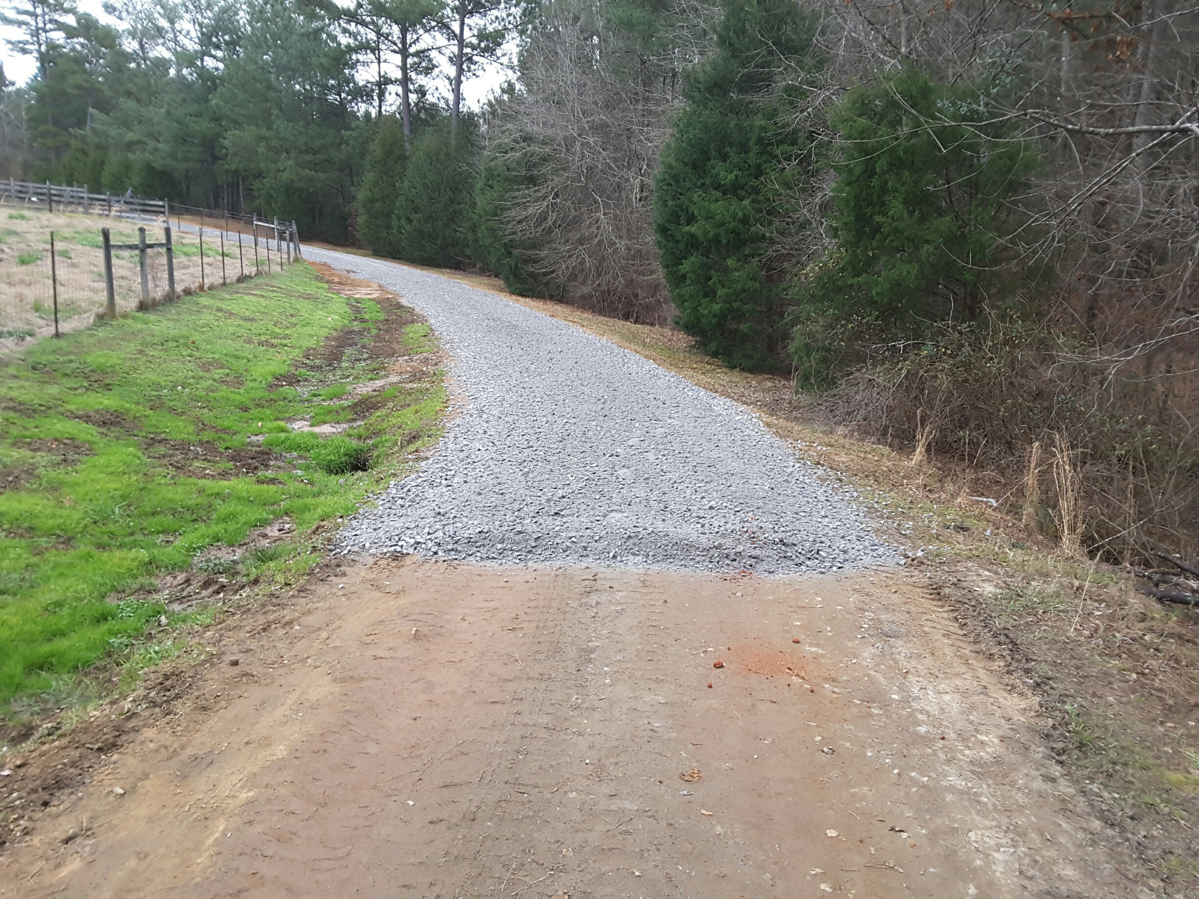Gravel Driveways Augusta GA Bill Harley