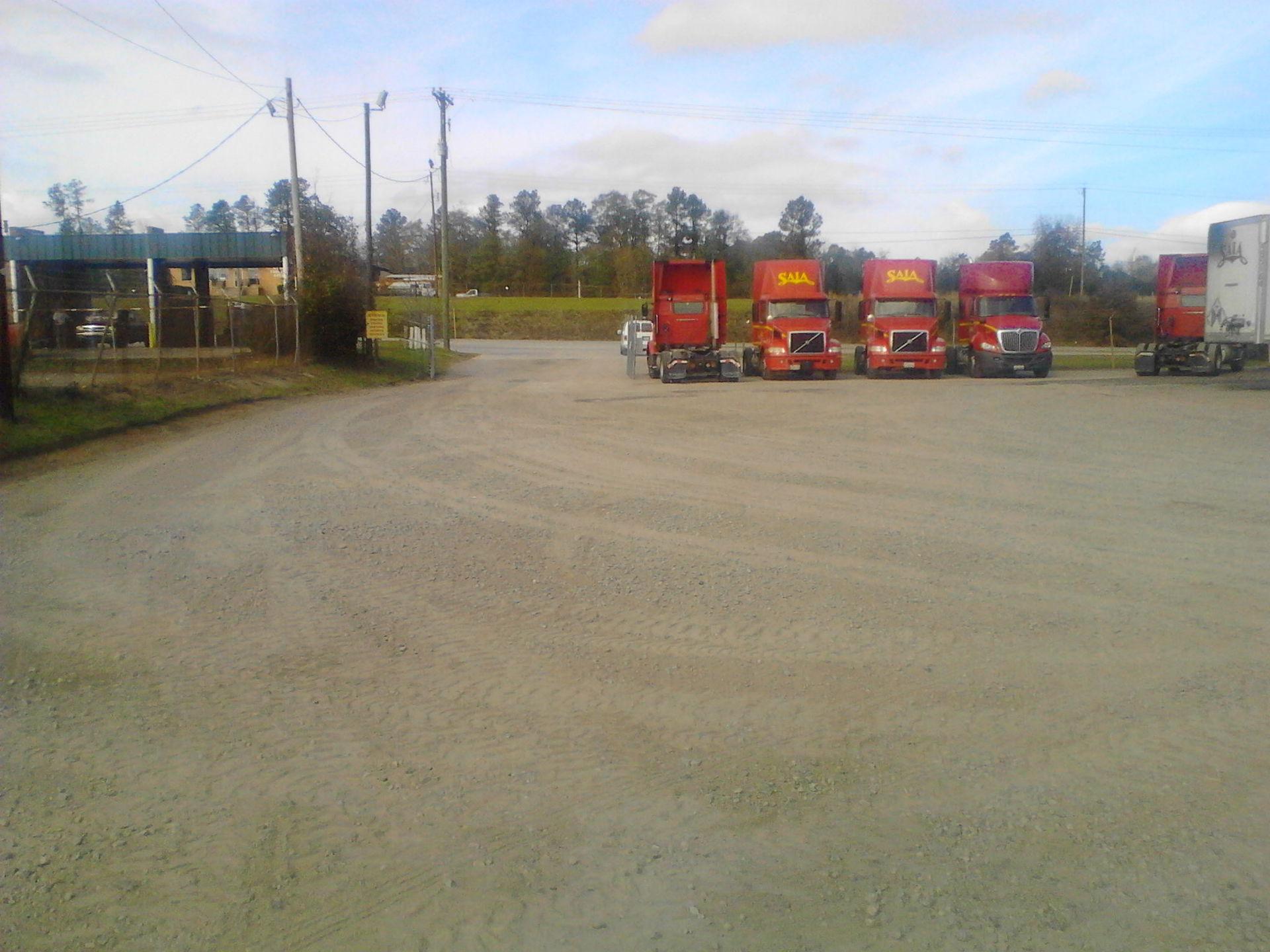 Gravel Parking Lot Augusta GA Bill Harley Company