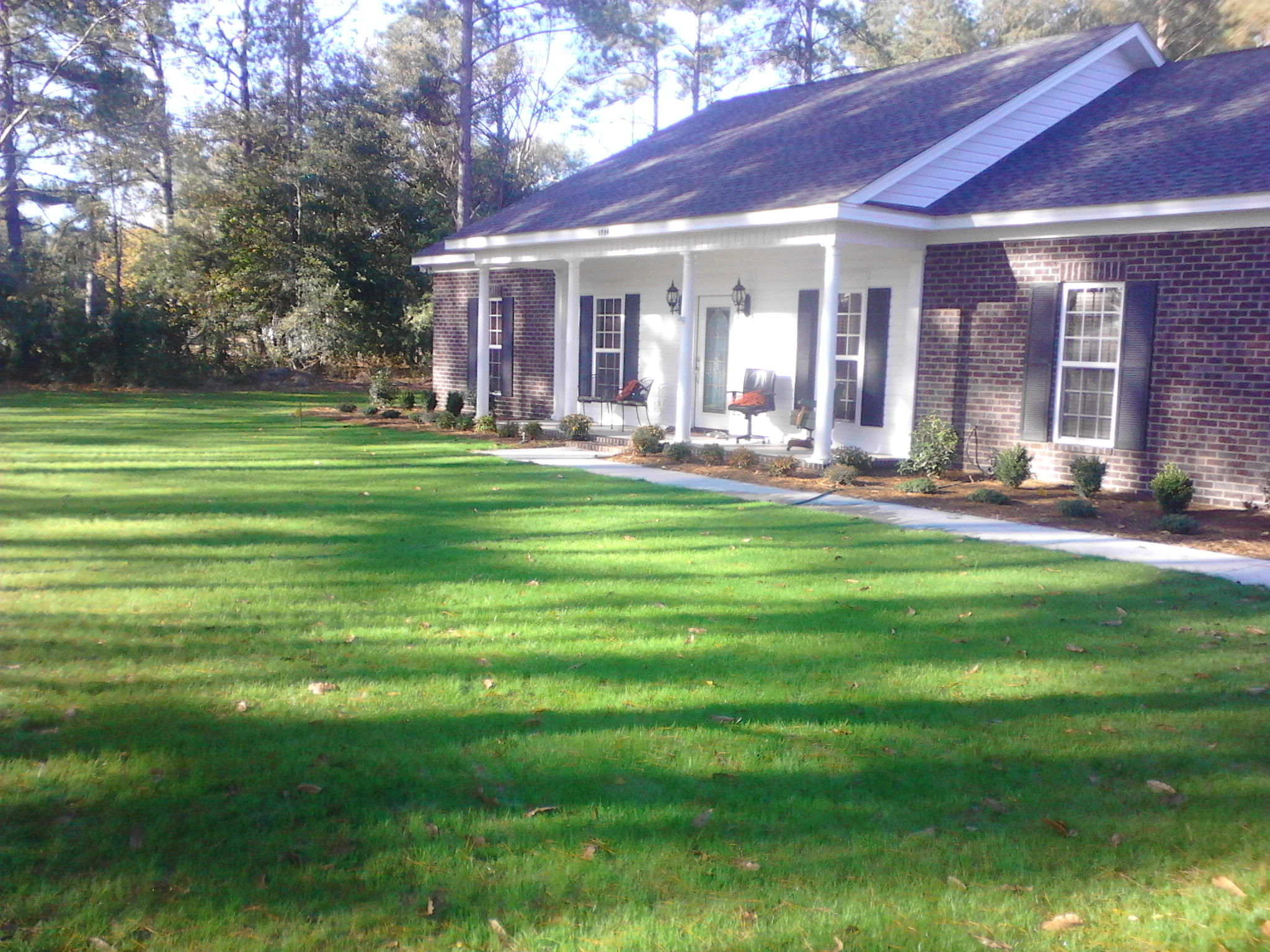 Landscaping augusta ga bill harley company for Designer homes augusta ga
