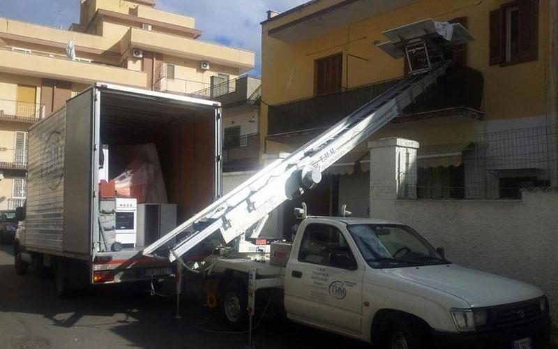 Noleggio furgoni per traslochi