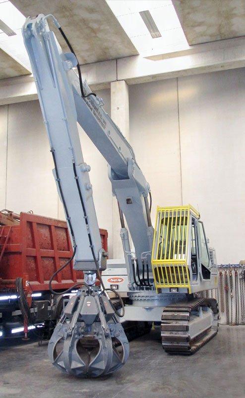 macchina per la raccolta e il trasporto dei rifiuti