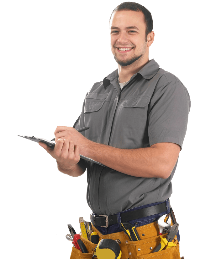 Maintenance worker for security systems
