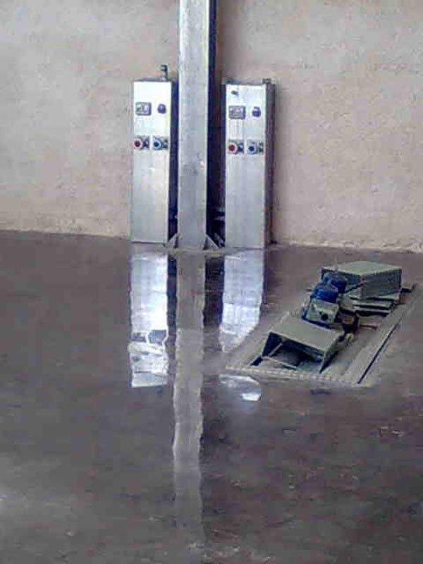 Trattamento levigatura e lucidatura pavimenti interni