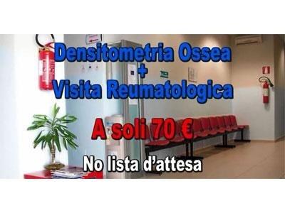 densitometria ossea e visita reumatologica