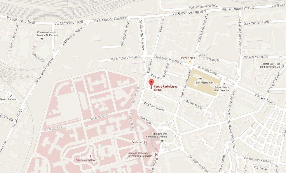 Sede di Bari (adiacente Ospedale Policlinico)