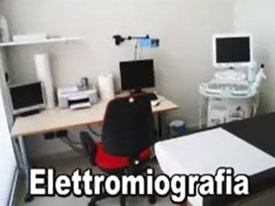 servizio di elettromiografia