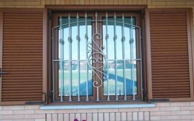 finestra con grata torino