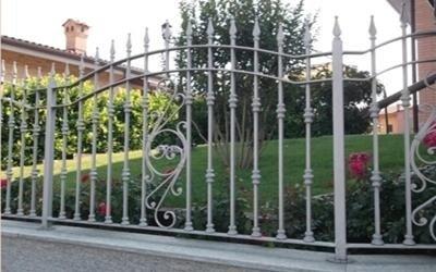 decorazione cancello in ferro torino