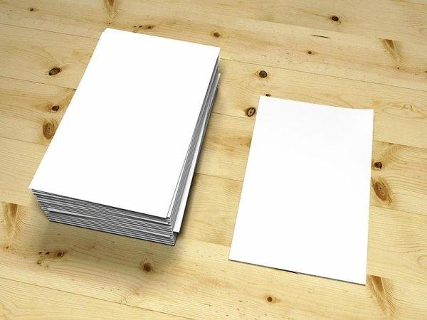 cartone cartoncino teso