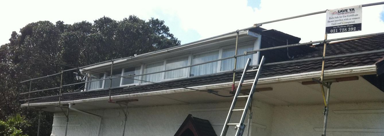 Roof edge protection and Safety nets Auckland