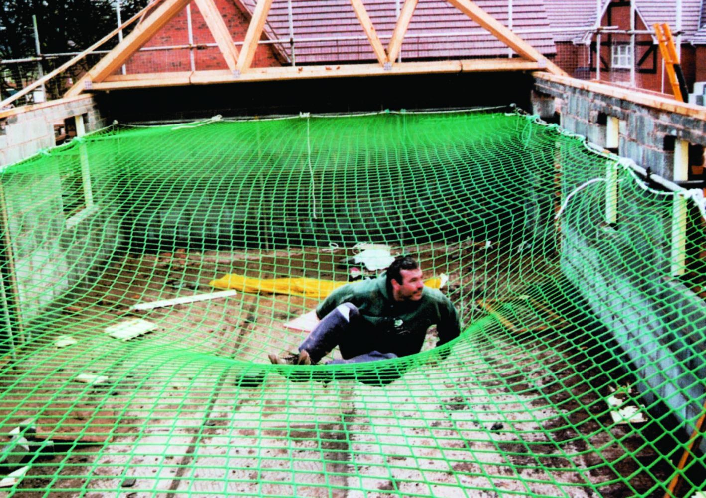 Roof Edge Protection And Safety Nets Auckland Save Ya