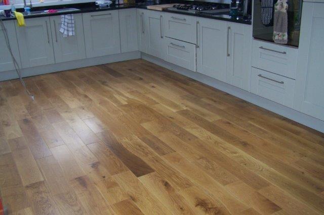 Floorboard restoration