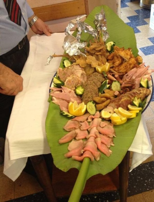 antipasto di carne mista