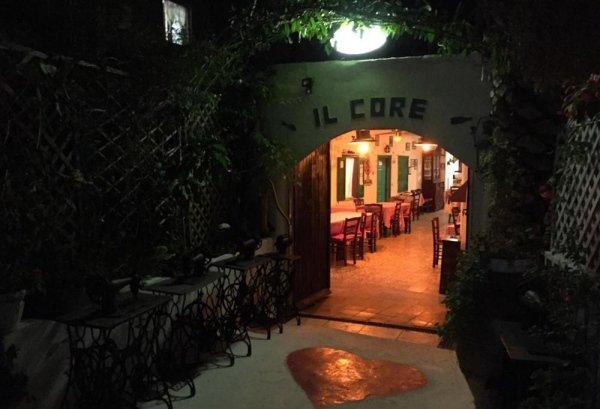 Il Core trattoria pizzeria a Ponza