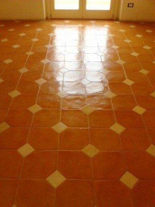trattamento pavimento in cotto