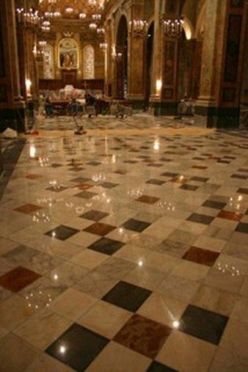 pavimentazione per chiese