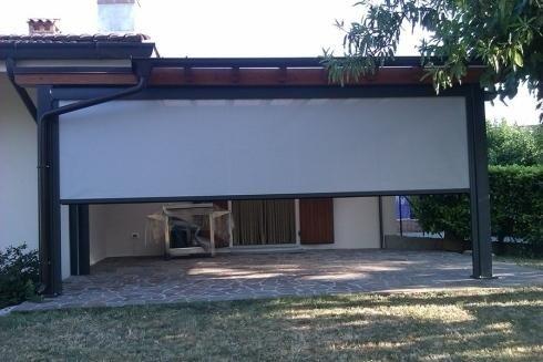 Filtering shade facade udine