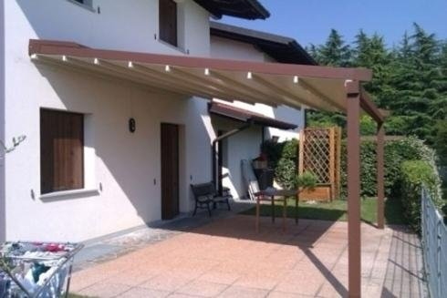 Outdoor pergolas for the sun udine