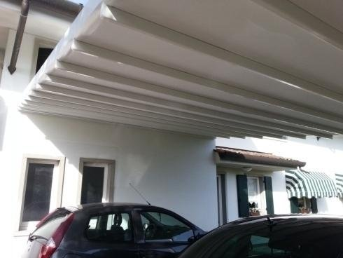 Pergolas for cars manzano