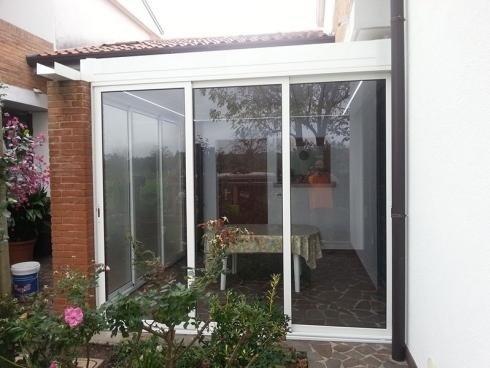 Bioclimatic structure solar protection manzano